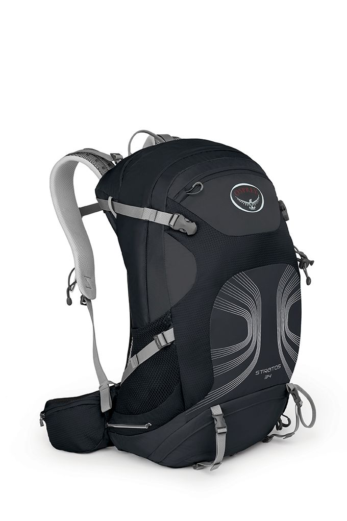 Osprey Stratos 34 Anthracite Black-30