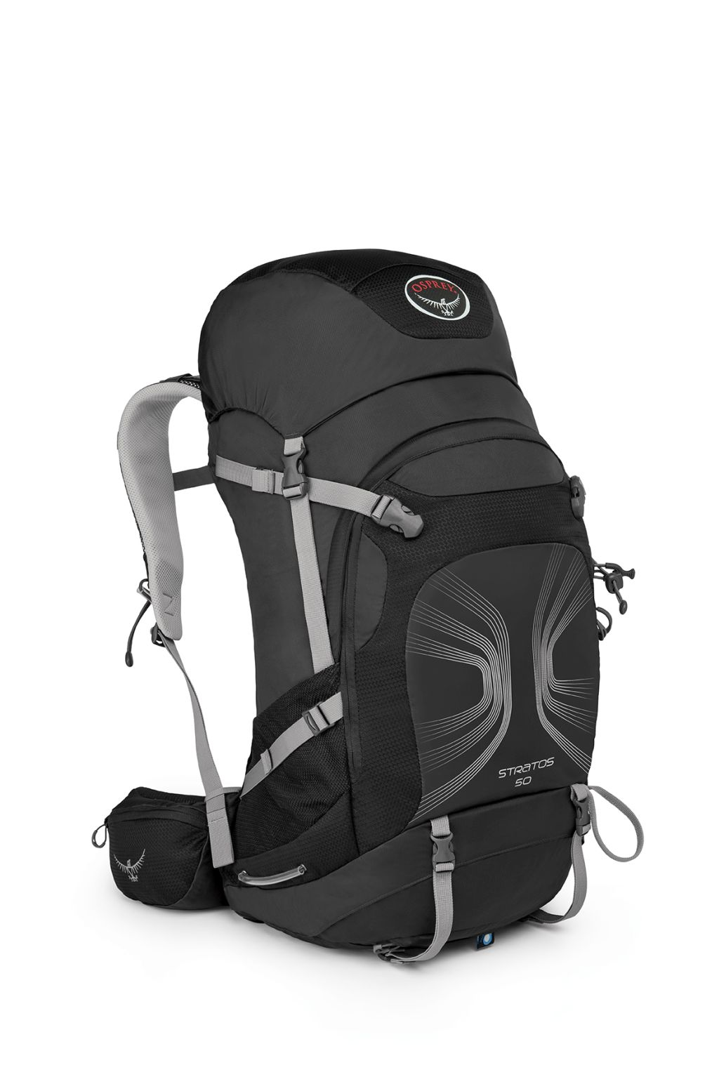 Osprey Stratos 50 Anthracite Black-30