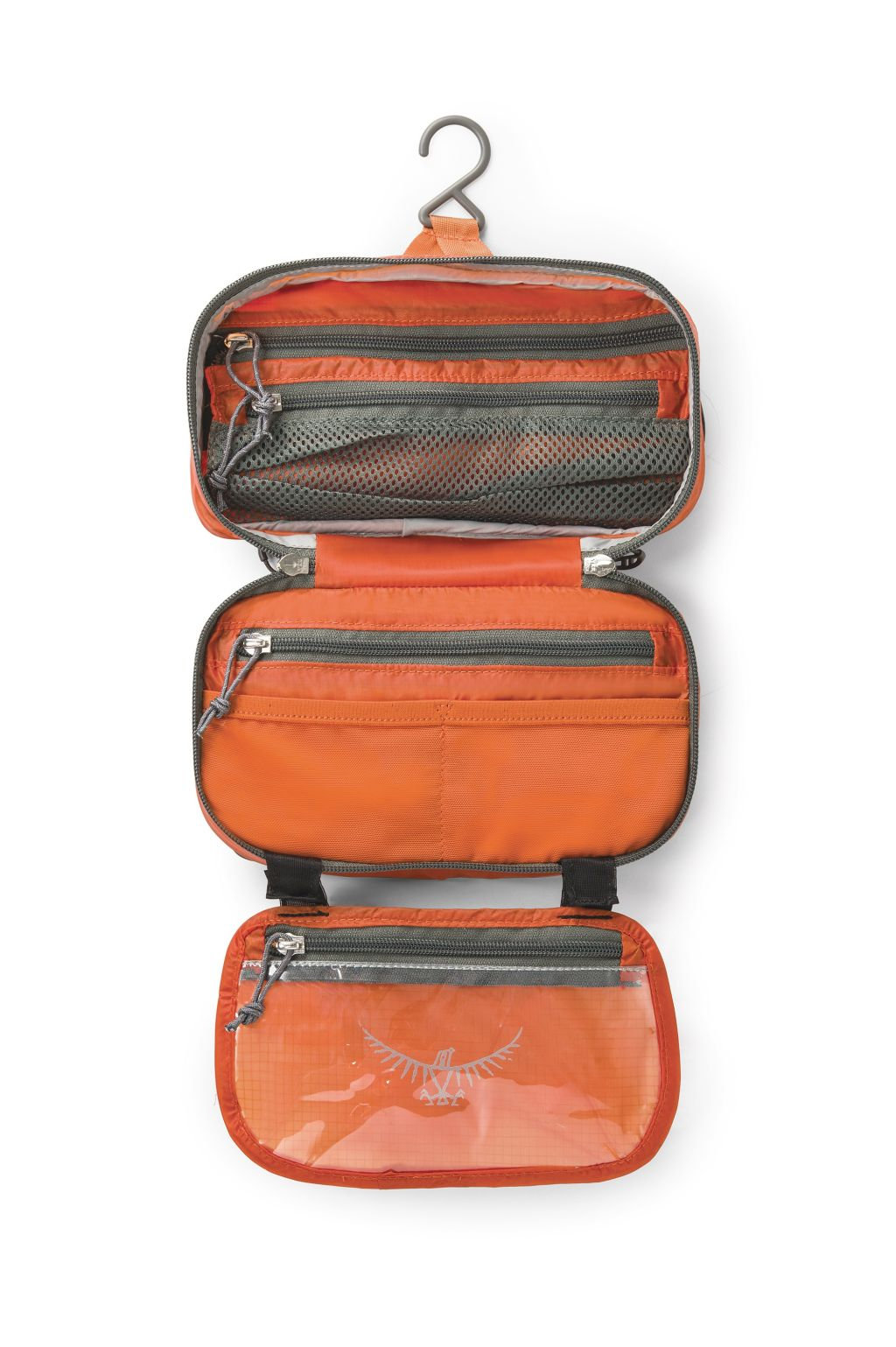 Osprey Wash Bag Zip Poppy Orange-30