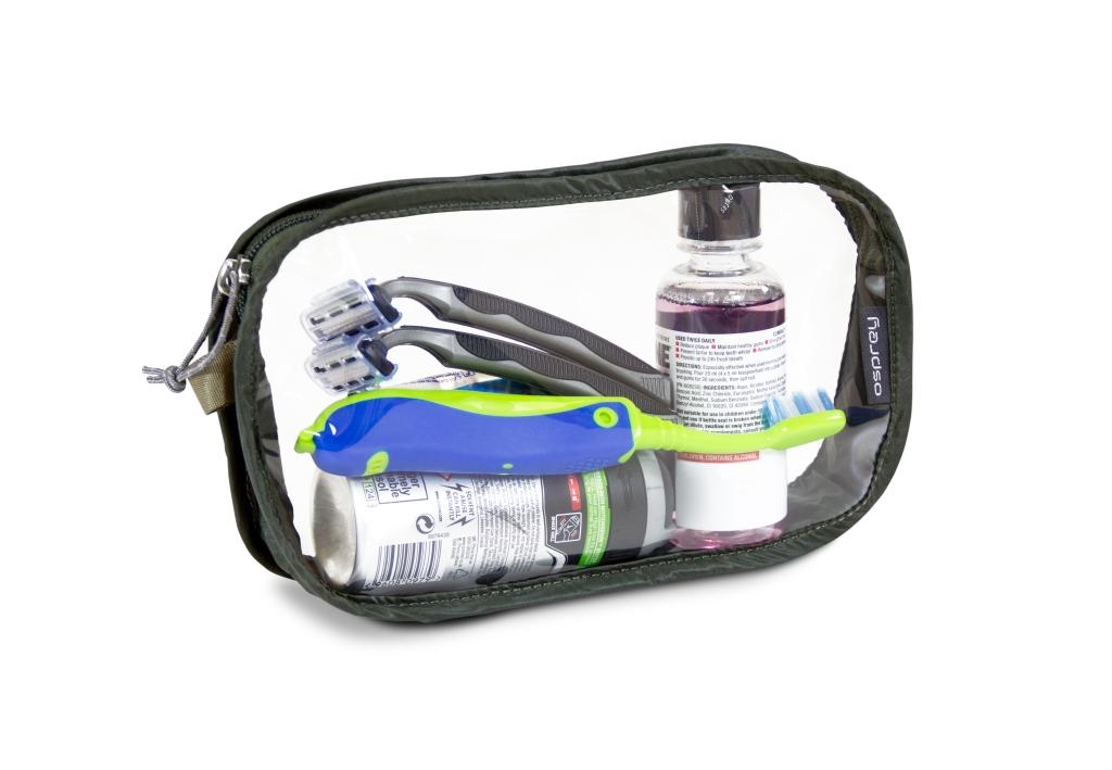Osprey - Washbag Carry-on Shadow Grey - Sponge Bags -