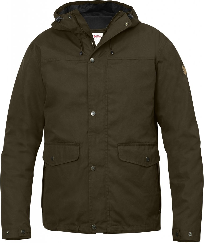 FjallRaven Ovik 3 in 1 Jacket Dark Olive-30