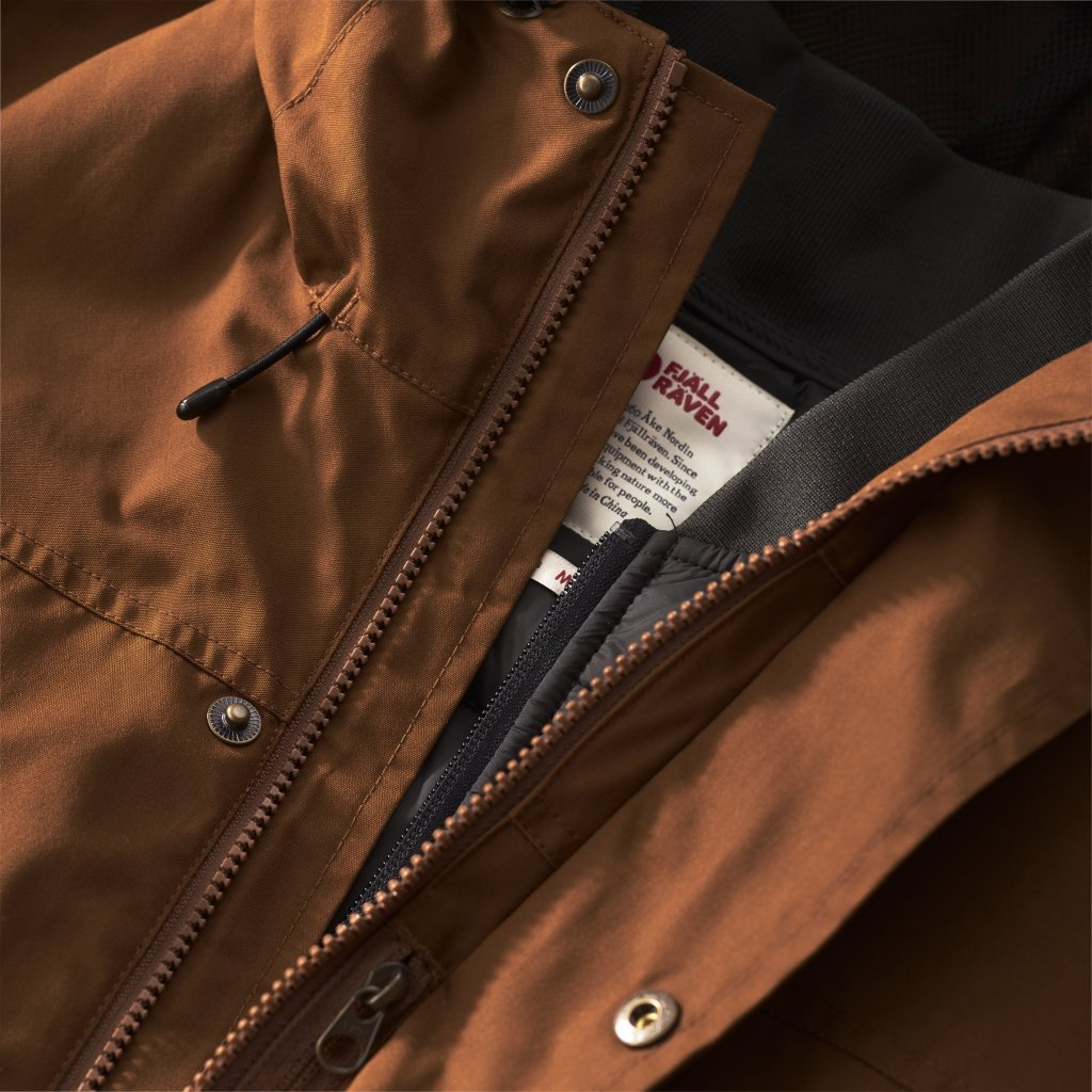 FjallRaven Ovik 3 in 1 Parka W Chestnut-30