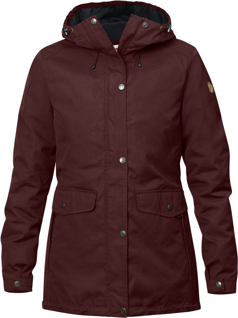 FjallRaven Ovik 3 in 1 Parka W Burnt Red-30