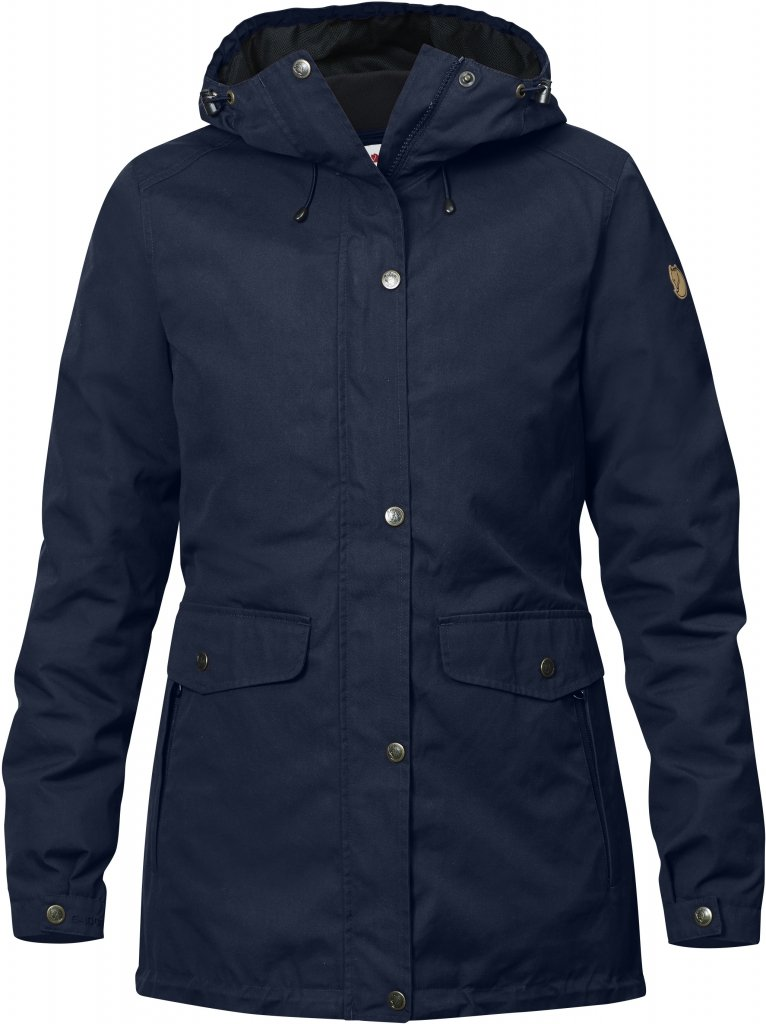 FjallRaven Ovik 3 in 1 Parka W Dark Navy-30