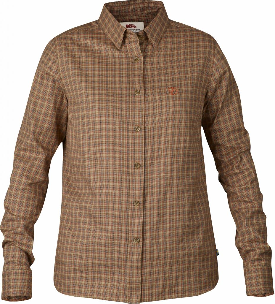 FjallRaven Övik Flannel Shirt LS W. Autumn Leaf-30