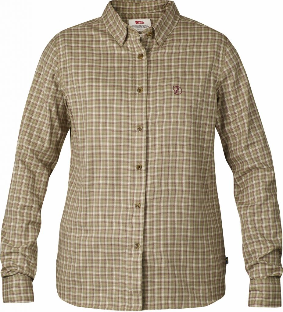 FjallRaven Övik Flannel Shirt LS W. Green-30
