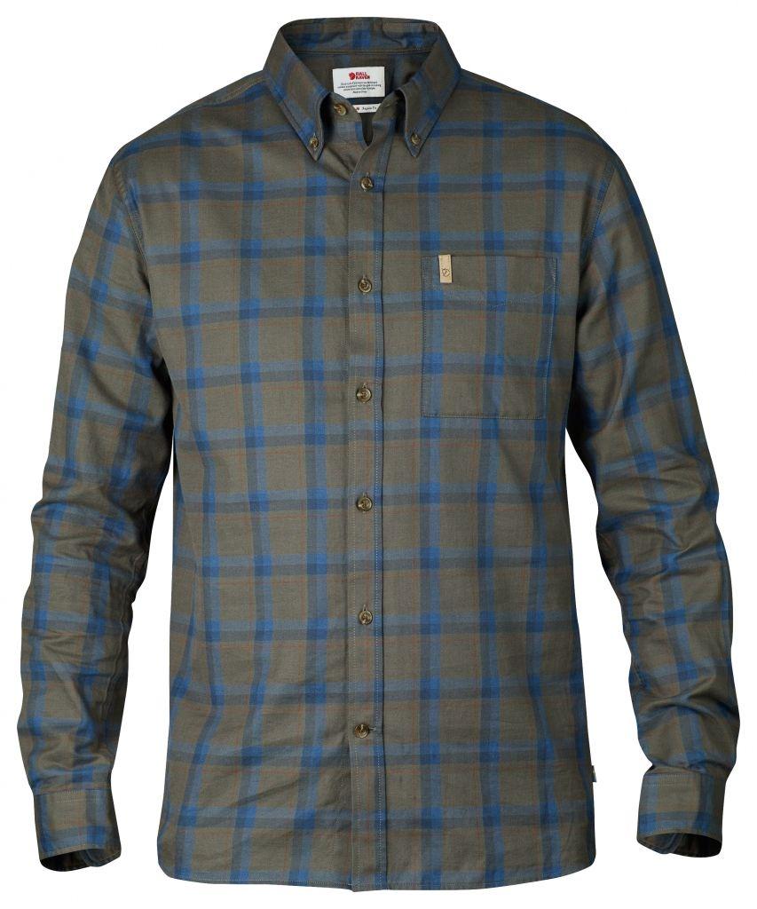 FjallRaven Övik Flannel Shirt LS Tarmac-30