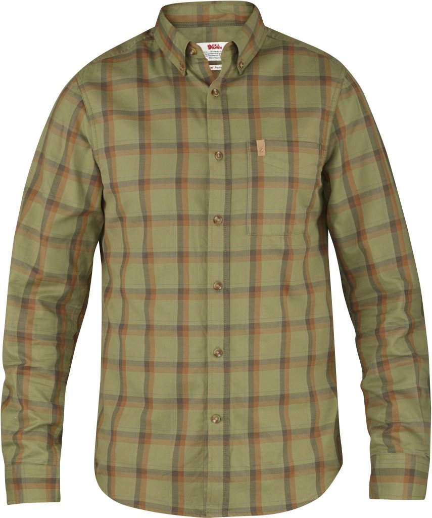 FjallRaven Ovik Flannel Shirt LS Green-30