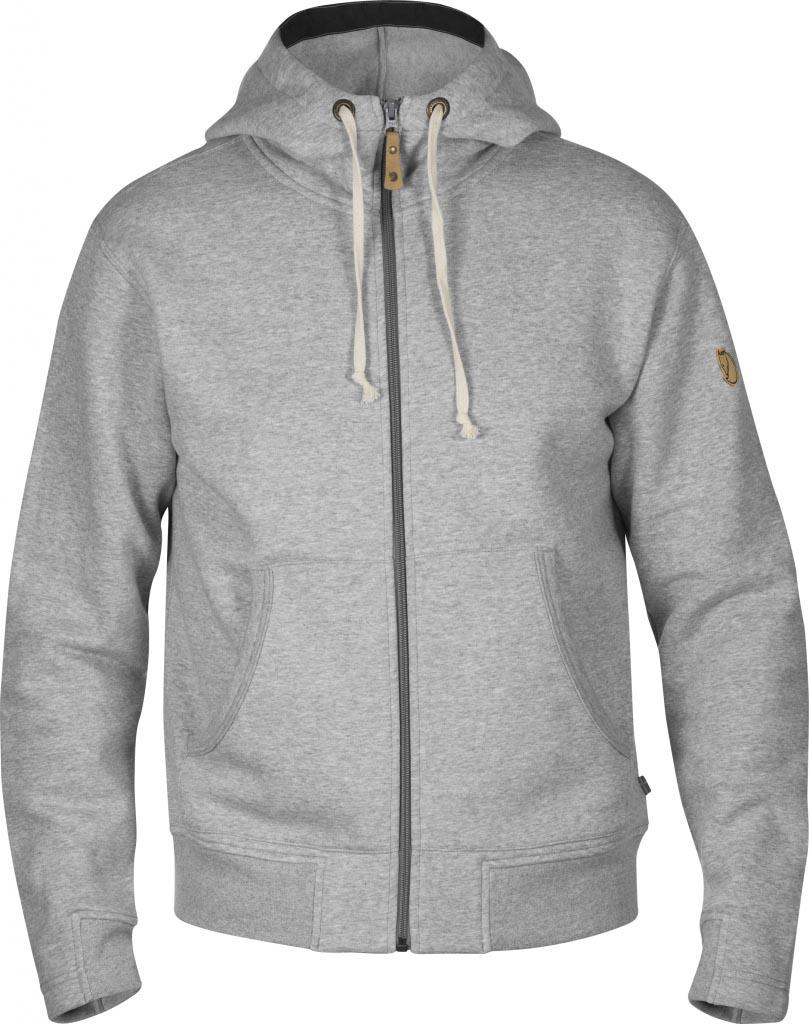 FjallRaven Övik Hoodie Grey-30