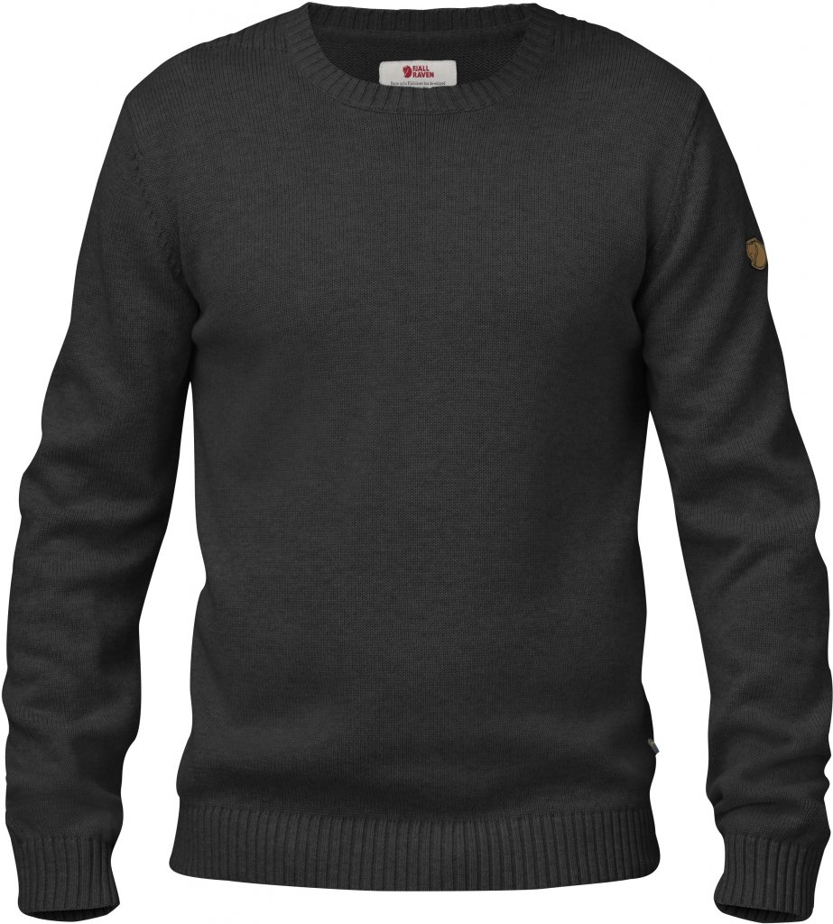 FjallRaven Övik Knit Crew Dark Grey-30