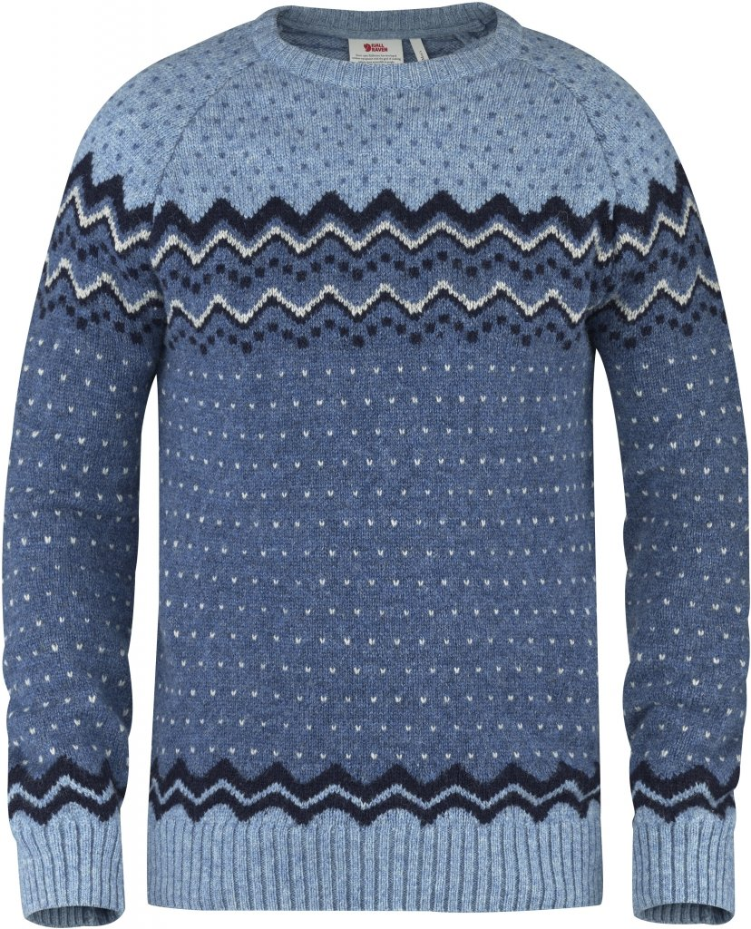 FjallRaven Ovik Knit Sweater Blueberry-30