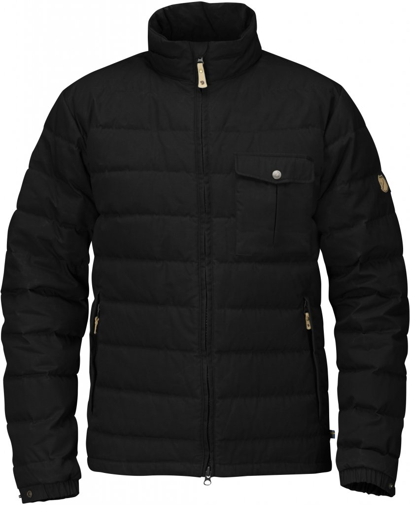 FjallRaven Ovik Lite Jacket Black-30