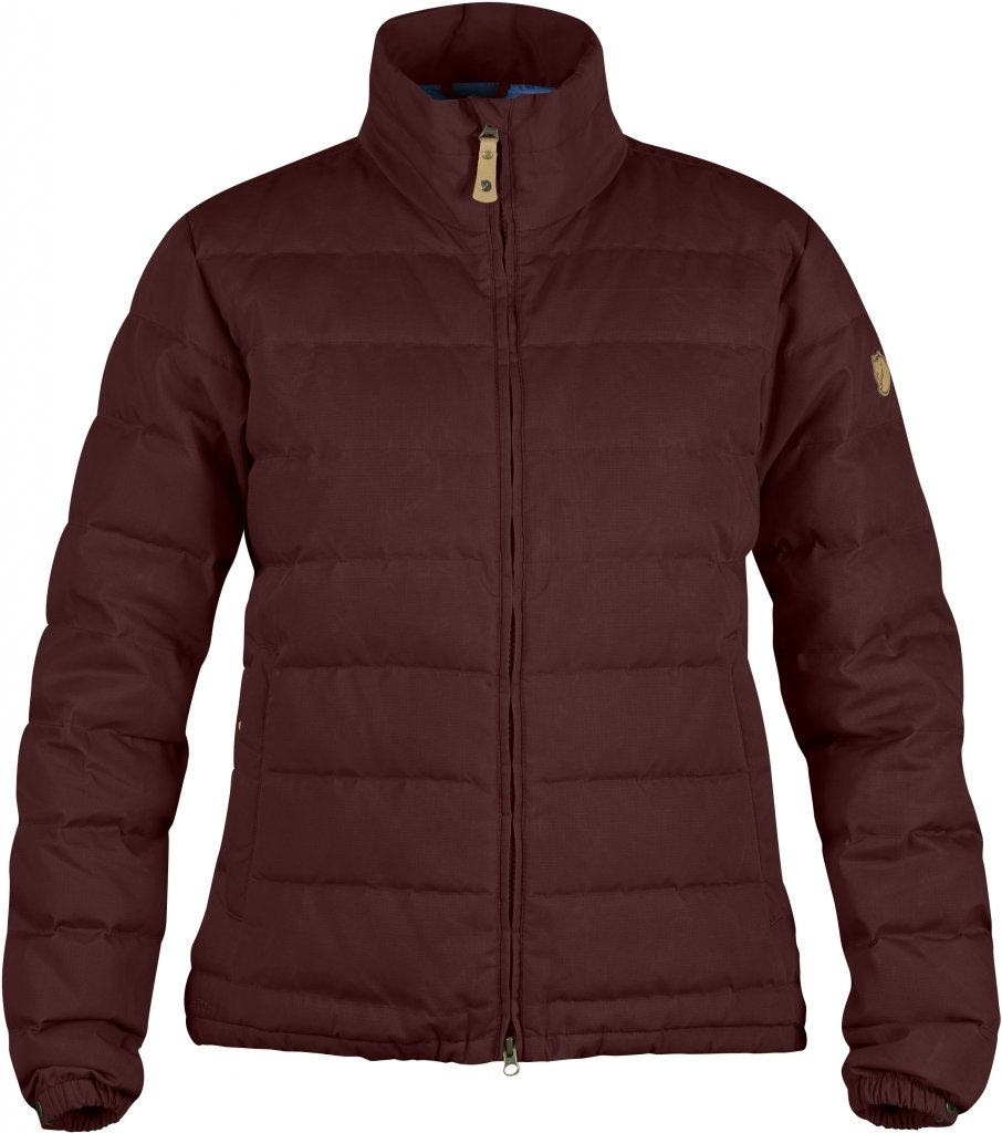 FjallRaven Ovik Lite Jacket W. Burnt Red-30