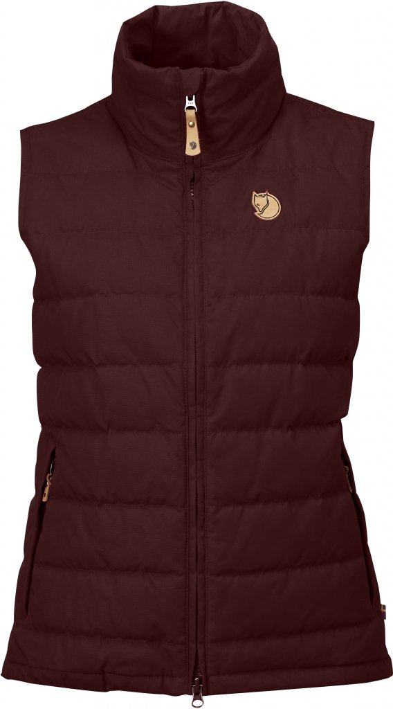 FjallRaven Ovik Lite Vest W. Burnt Red-30