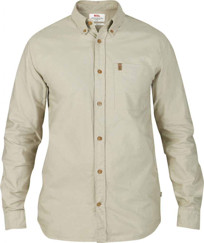 FjallRaven Övik Oxford Shirt LS Light Beige-30