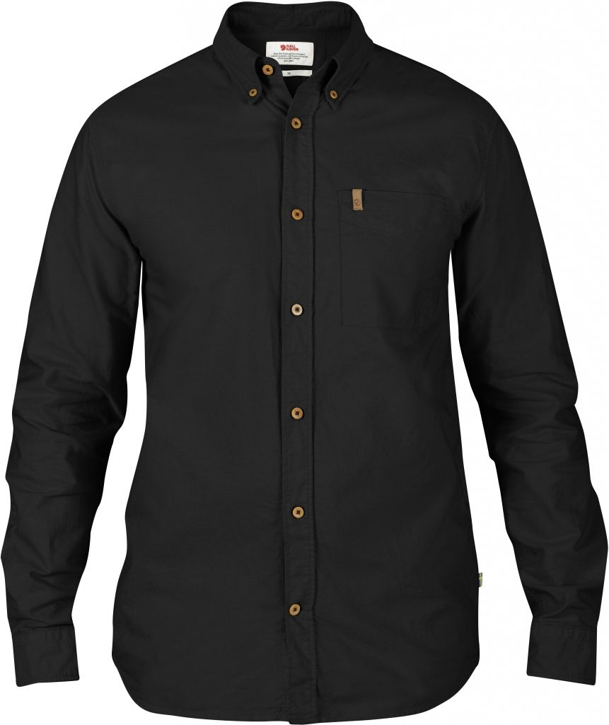 FjallRaven Övik Oxford Shirt LS Black-30