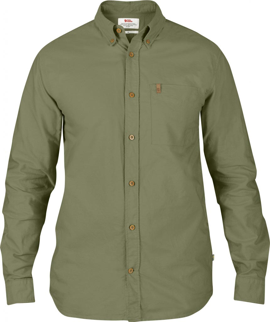 FjallRaven Övik Oxford Shirt LS Green-30
