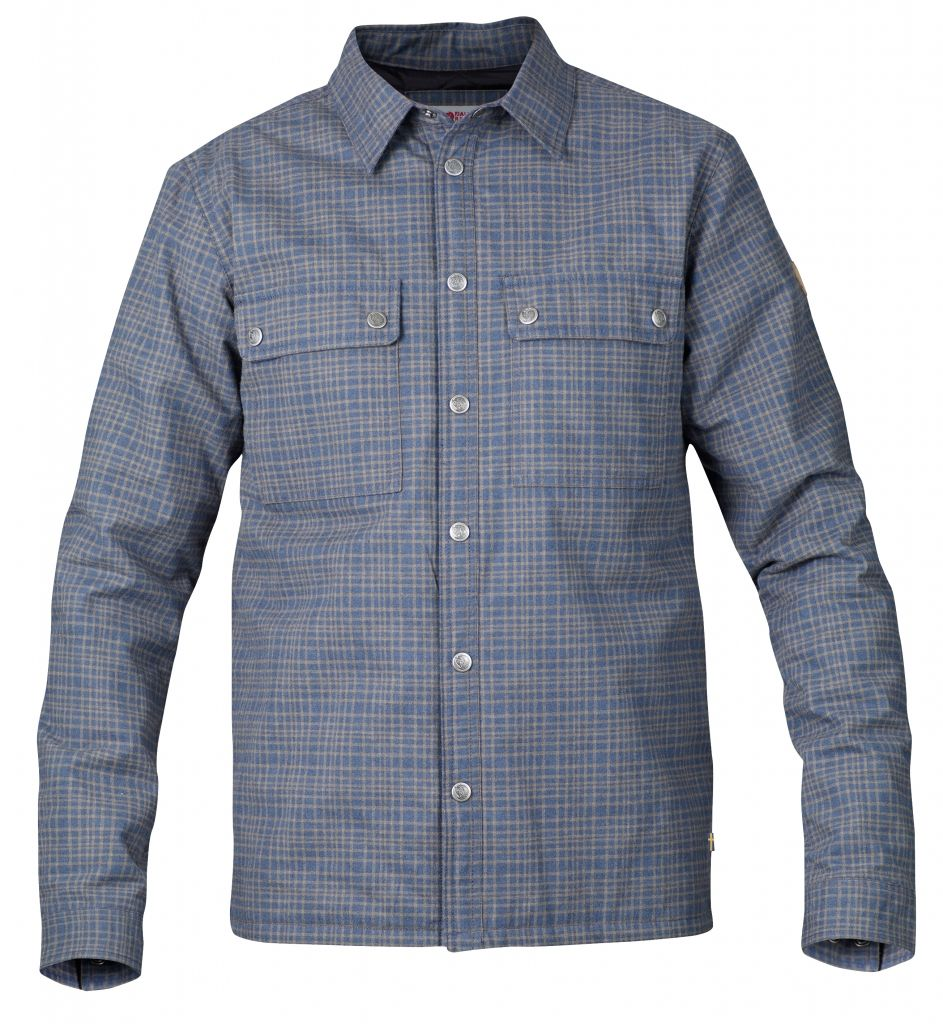 FjallRaven Övik Padded Shirt Uncle Blue-30