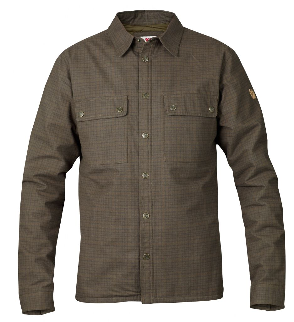 FjallRaven Övik Padded Shirt Dark Olive-30