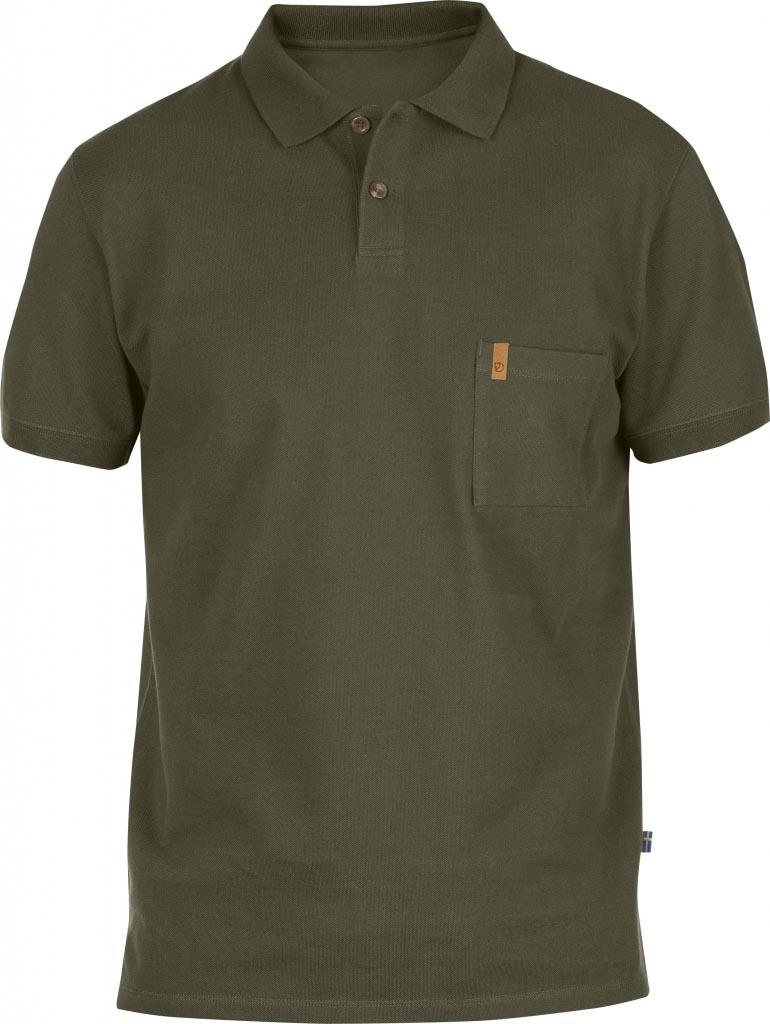 FjallRaven Övik Pique Shirt Tarmac-30