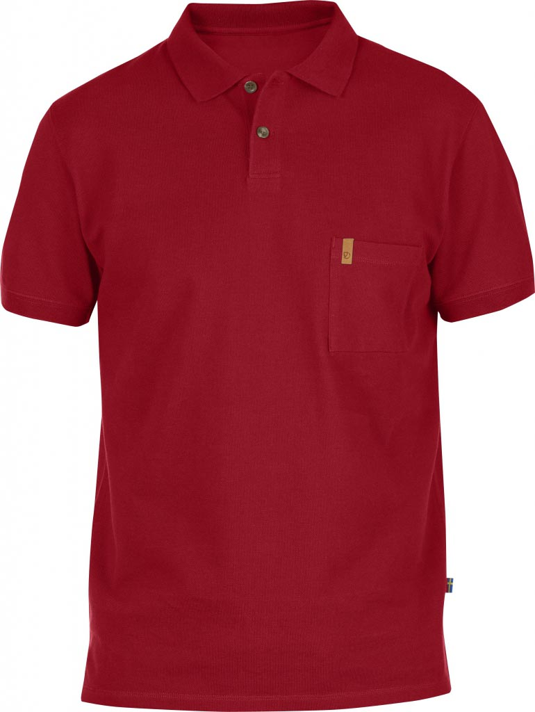 FjallRaven Övik Pique Shirt Deep Red-30