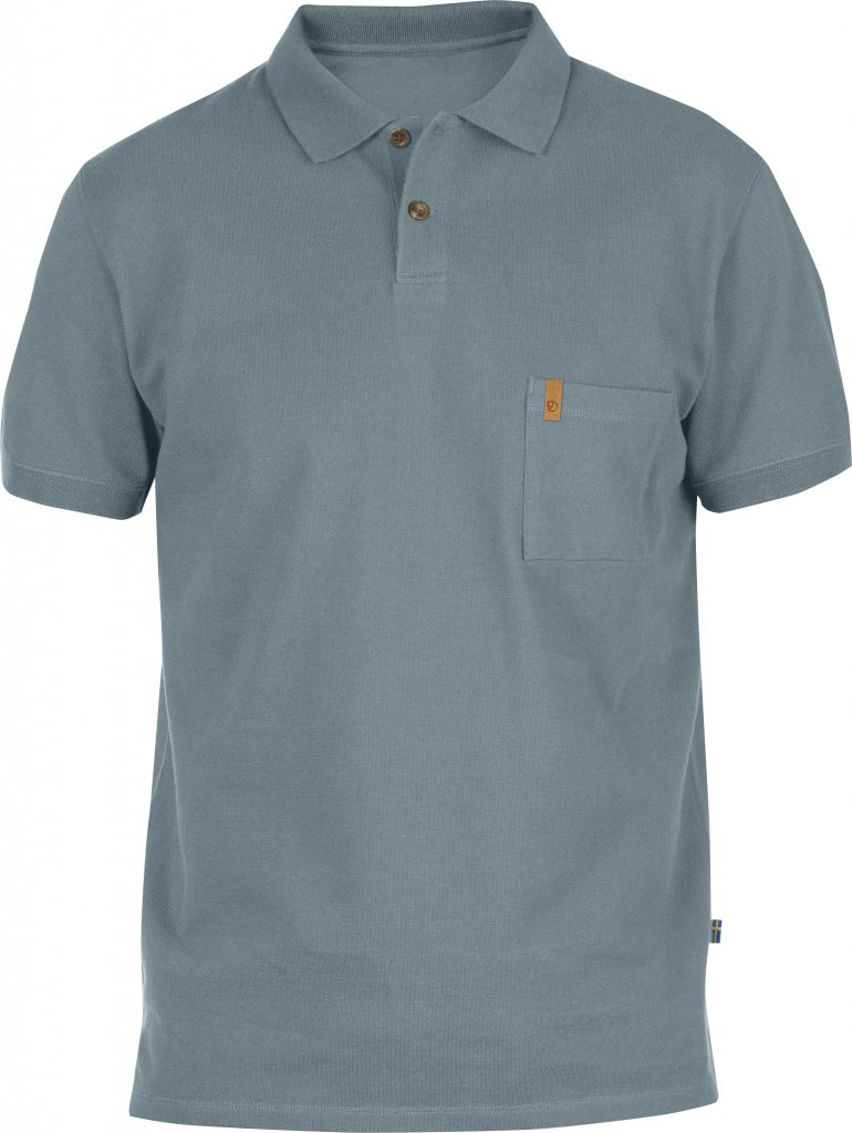 FjallRaven Övik Pique Shirt Steel Blue-30