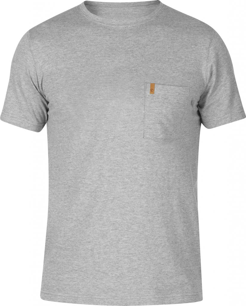 FjallRaven Övik Pocket T-shirt Grey-30