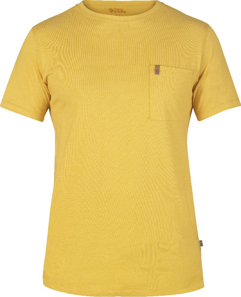 FjallRaven Övik Pocket T-shirt Ochre-30