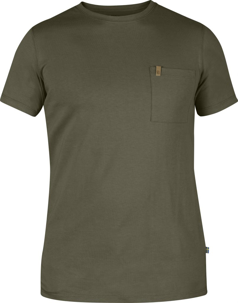FjallRaven Övik Pocket T-shirt Tarmac-30