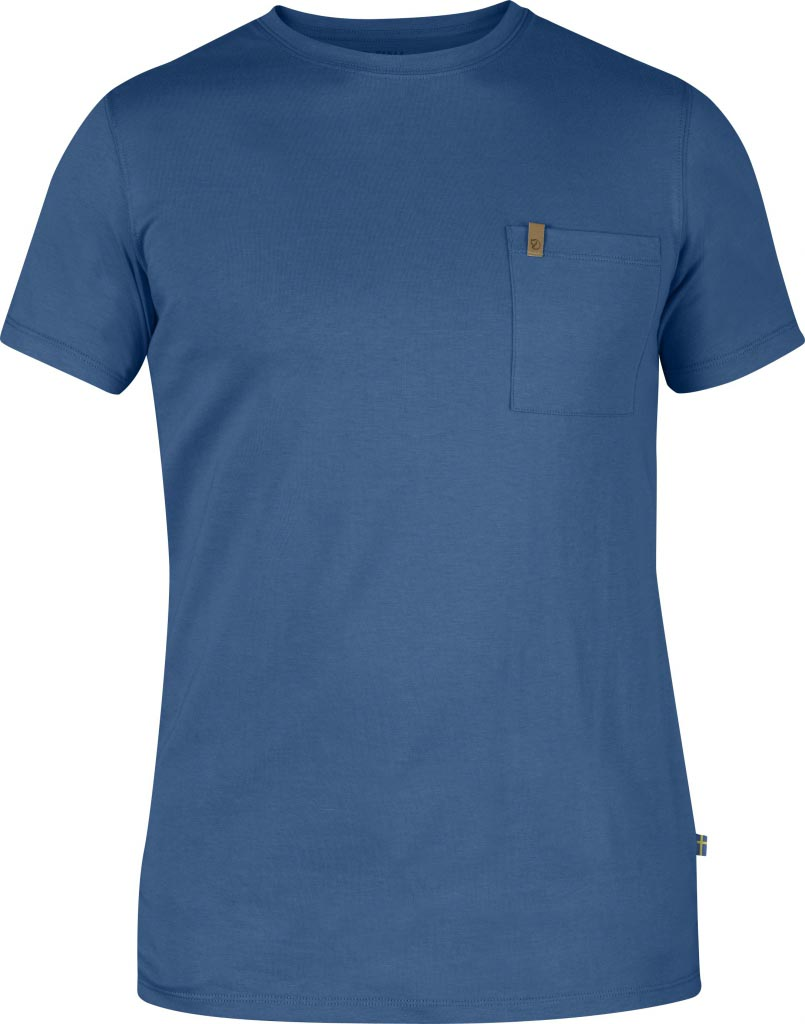 FjallRaven Övik Pocket T-shirt Uncle Blue-30