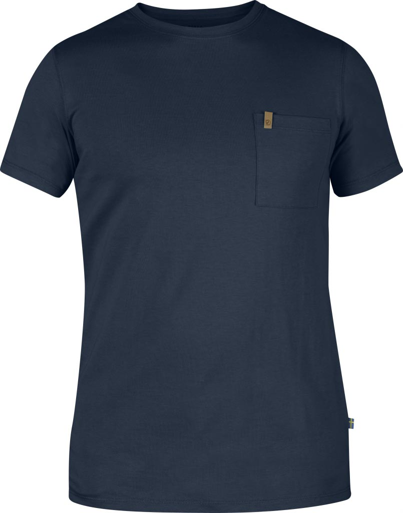 FjallRaven Övik Pocket T-shirt Dark Navy-30