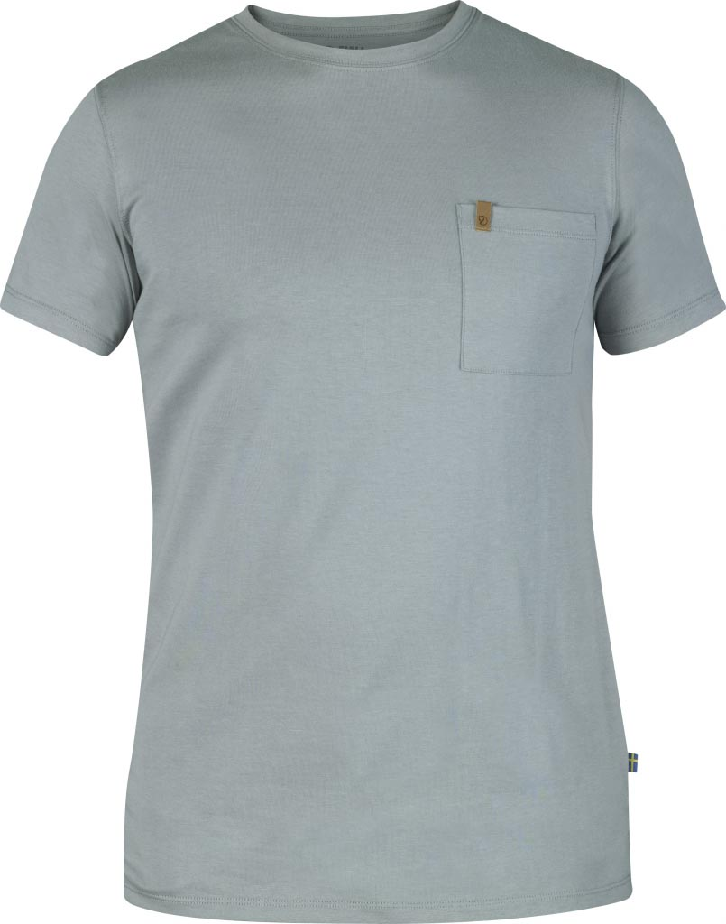 FjallRaven Övik Pocket T-shirt Steel Blue-30