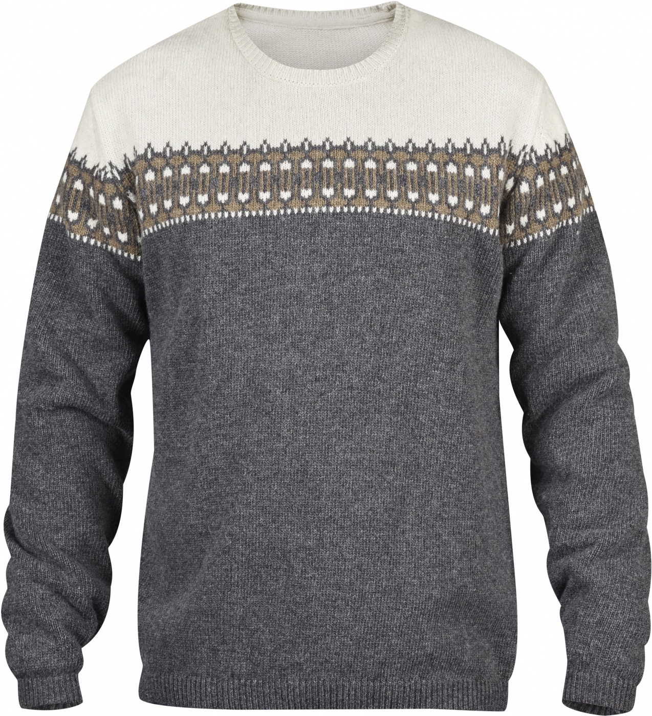 FjallRaven Övik Scandinavian Sweater Grey-30