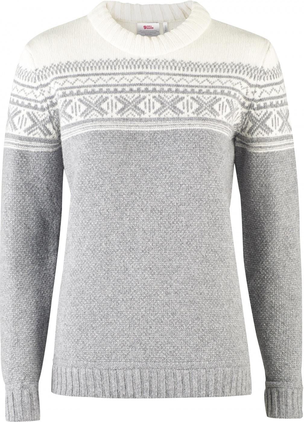 FjallRaven Övik Scandinavian Sweater W Grey-30