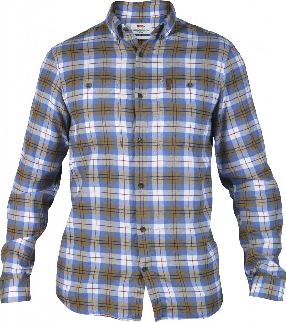 FjallRaven Övik Shirt LS UN Blue-30