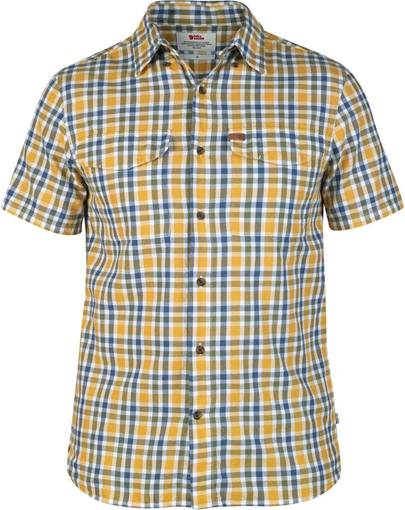 FjallRaven Övik Shirt SS Comfort Fit Ochre-30