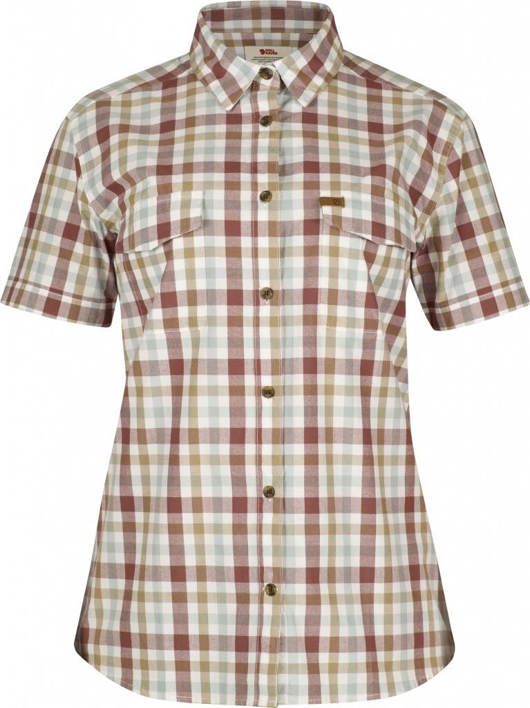 FjallRaven Övik Shirt SS W. Wild Ginger-30