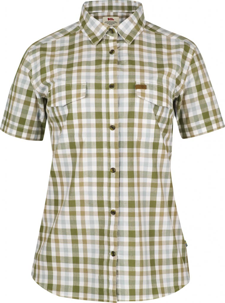 FjallRaven - Övik Shirt SS W. XL Green - Shirts - XL