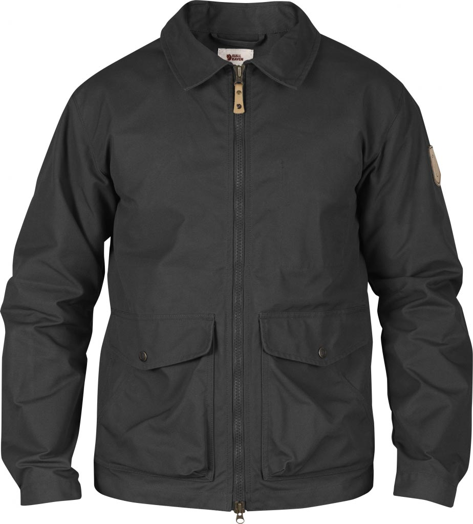 FjallRaven Övik Short Jacket Dark Grey-30