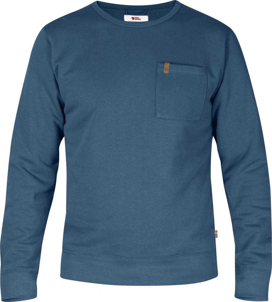 FjallRaven Övik Sweater Uncle Blue-30