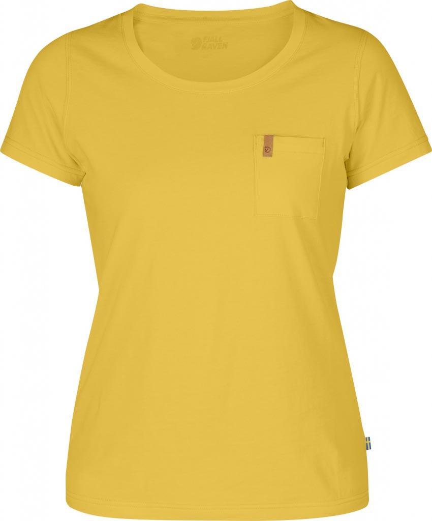 FjallRaven Övik T-shirt W. Ochre-30