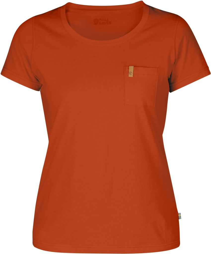 FjallRaven Övik T-shirt W. Flame Orange-30