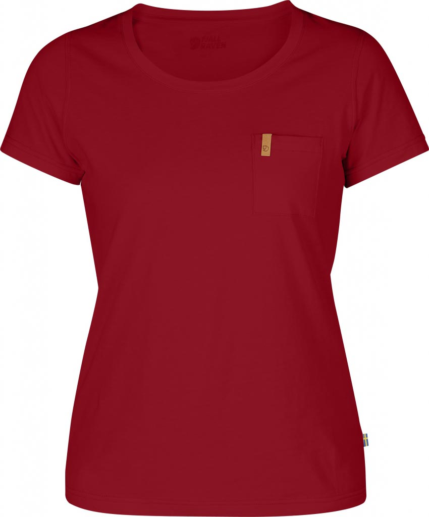 FjallRaven Övik T-shirt W. Deep Red-30