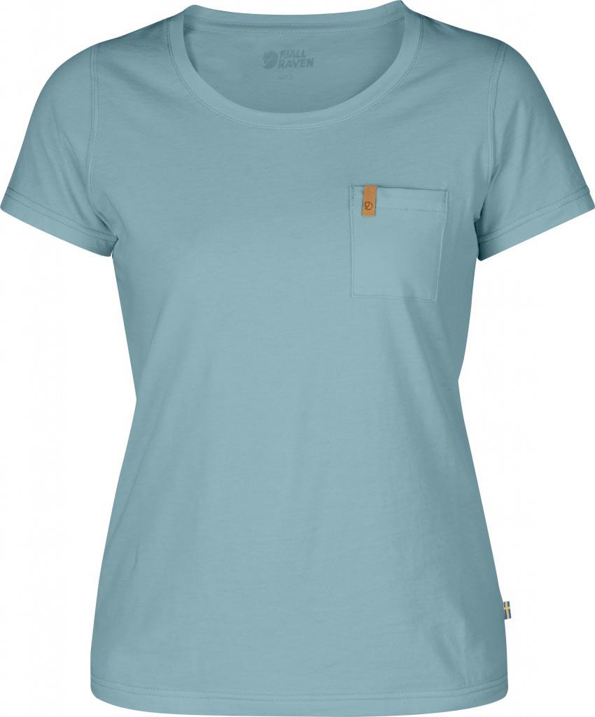 FjallRaven Övik T-shirt W. Sky Blue-30