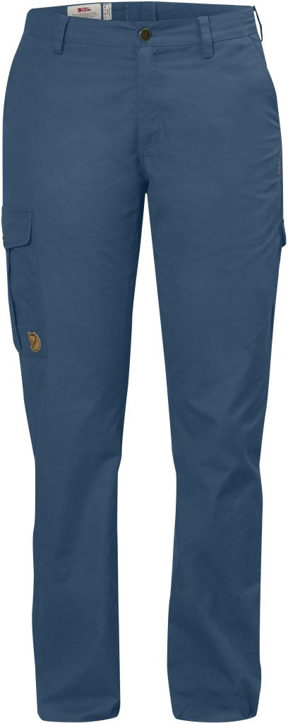 FjallRaven Övik Trousers Curved W Uncle Blue-30