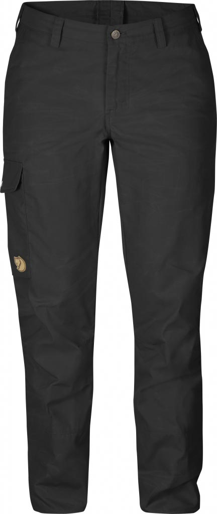 FjallRaven - Övik Trousers W. Dark Grey - Travel Pants - 44
