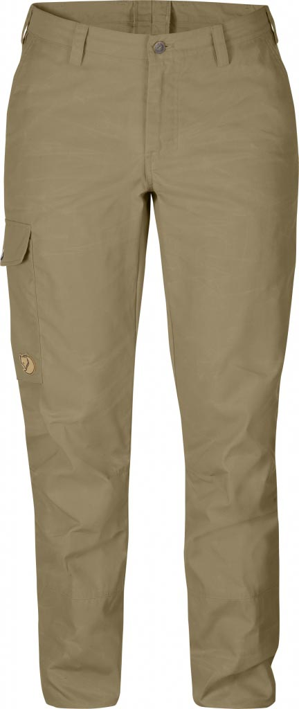 FjallRaven - Övik Trousers W. Sand - Travel Pants - 48