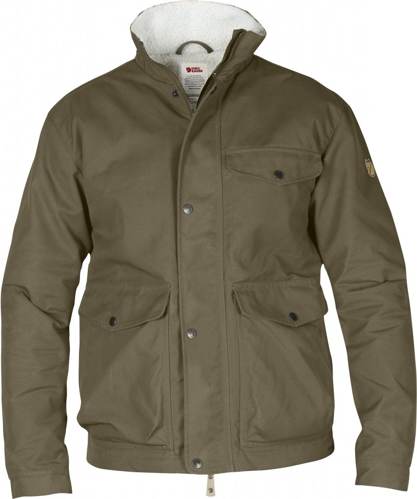 FjallRaven Ovik Winter Jacket Taupe-30