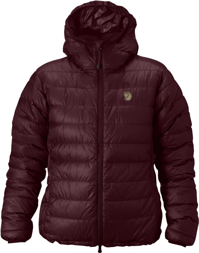 FjallRaven Pak Down Jacket W. Dark Garnet-30