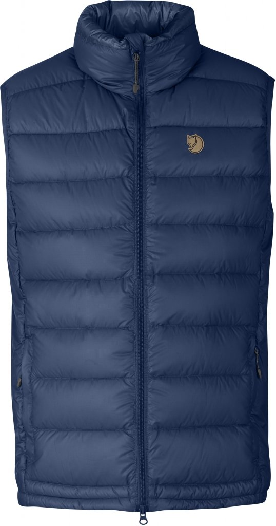 FjallRaven Pak Down Vest Blueberry-30
